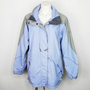 Columbia hooded puffer jacket